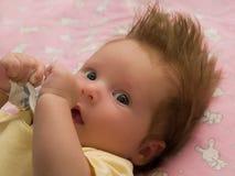Kleinkindaugen Stockfotografie