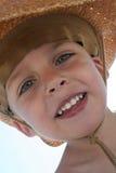 Kleinkindcowboy Stockfoto