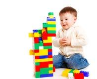 Kleinkindgebäude Lizenzfreie Stockbilder