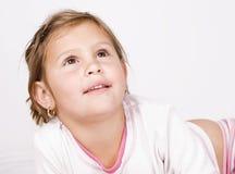 Kleinkindmädchen stockfotografie