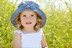 Kleinkindmädchen Stockfotos
