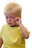 Kleinkindschreien Stockbilder