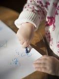 Kleinkindzeichnung lizenzfreie stockfotos