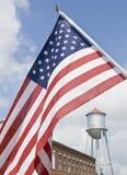 Kleinstadt Americana Stockfoto