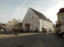 Kleinstadt Deutschland stockbilder