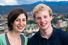 Kleinstadt-Jugendliche Lizenzfreie Stockfotos