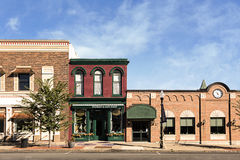 Kleinstadt Main Street Lizenzfreie Stockfotografie