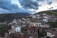 Kleinstadt in Spanien Stockfoto