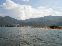 Kleinstadt von Stavros, Griechenland lizenzfreie stockfotos