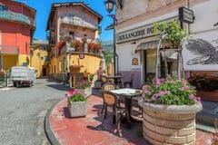 Kleinstadt von Tende, Frankreich Stockbild