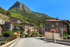 Kleinstadt von Tende, Frankreich Lizenzfreie Stockfotos