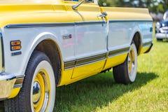 Kleintransporter 1972 Chevrolets Cheyenne Super 10 lizenzfreie stockbilder