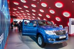 Kleintransporter Toyotas Hilux am IAA 2015 Stockfotografie