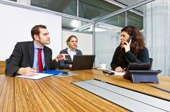 Kleinunternehmenteam Lizenzfreie Stockfotos