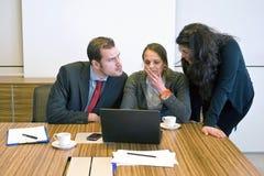 Kleinunternehmenteam lizenzfreie stockfotografie