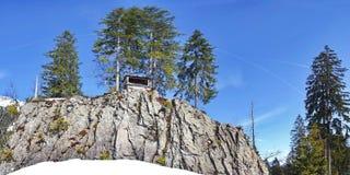 Kleinwalsertal. Winter sports and recreation area Stock Photos