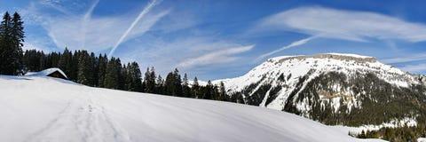 Kleinwalsertal. Winter sports and recreation area Stock Image