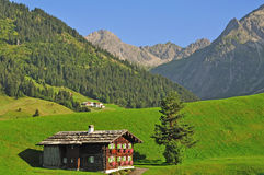 Kleinwalsertal,Vorarlberg,Austria Royalty Free Stock Image