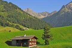 Kleinwalsertal, Vorarlberg, Autriche image libre de droits
