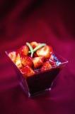 Kleisty czarny ryżowy deser Zdjęcie Royalty Free