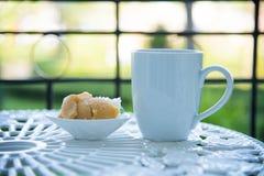 Kleistych ryż i jajka custard Zdjęcie Stock