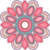 Klejnotów mandala dekoracja dla sieć projekta obrazy stock