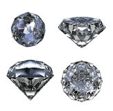 Klejnotu kamień - odizolowywający na bielu Zdjęcie Royalty Free