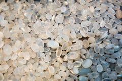 Klejnotu kamienia inkasowy zbliżenie, Sri Lanka skarby Obraz Stock