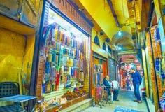 Klejnoty opóźniają w Kair rynku, Egipt obraz royalty free