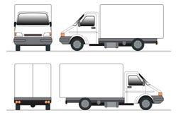 Klem-kunst vrachtwagen royalty-vrije illustratie