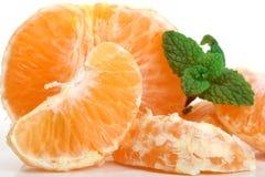 Klementinefrüchte Stockbild