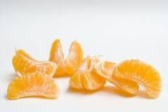 Klementinekeile stockfoto