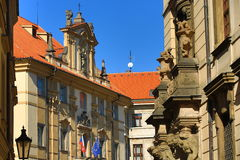 Klementinum, Old Towen Hall, The Astronomical Clock on Old Towen Square, Prague, Czech Republic Royalty Free Stock Photo