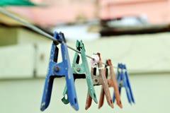 klemmen Stock Foto's