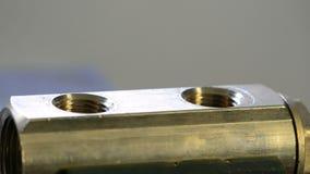 Klempner bei der Arbeit stock footage