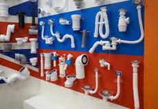 Klempnerarbeit für Abwasser Lizenzfreie Stockbilder