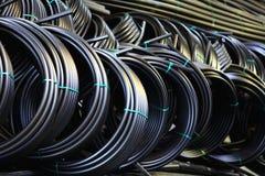 Klempnerarbeit leitet, Industrie, Fertigung von Rohren Lizenzfreies Stockbild