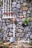 Klempnerarbeitsystembewässerung Stockbilder