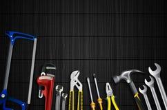 Klempnerwerkzeug-Ikonensatz Lizenzfreies Stockbild