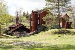 Klenshyttan-Eisen, das gegründet im Anfang des 17. Jahrhunderts macht Lizenzfreies Stockfoto