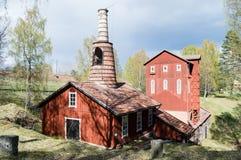 Klenshyttan-Eisen, das gegründet im Anfang des 17. Jahrhunderts macht Stockbilder