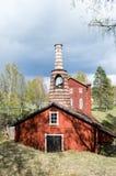 Klenshyttan-Eisen, das gegründet im Anfang des 17. Jahrhunderts macht Lizenzfreie Stockfotografie