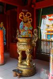 Klenteng Kwan Kong, Manado Indonesien royaltyfria bilder