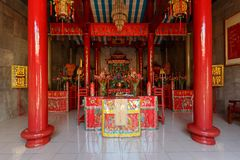 Klenteng Kwan Kong, Manado Indonezja obraz stock