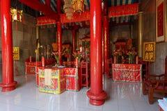 Klenteng Kwan Kong, Manado Indonezja obraz royalty free