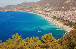 Kleopatra Beach  Alanya Turkey Royalty Free Stock Photo