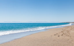 Kleopatra strand Arkivfoto