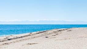 Kleopatra strand Royaltyfria Bilder