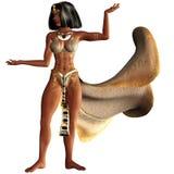 Kleopatra VII 2. 3d render of Kleopatra VII 2 Royalty Free Stock Images