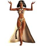 Kleopatra VII 3. 3d render of Kleopatra VII 3 Stock Photos